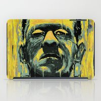 frankenstein iPad Cases featuring Frankenstein by nicebleed