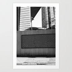 DUMBO Brooklyn Art Print