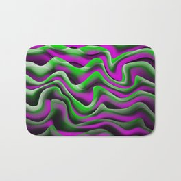 purple green alga Bath Mat
