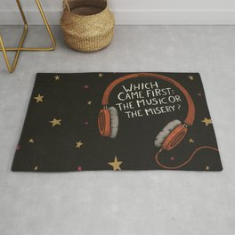 The Music Or The Misery? Rug