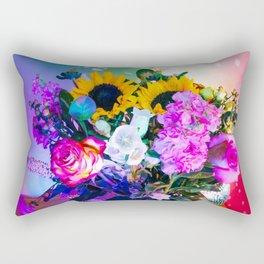 Disco Bouquet II Rectangular Pillow