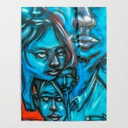 Family Graffiti Poster