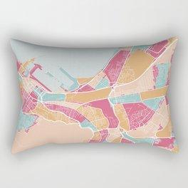 Cape Town map, South Africa Rectangular Pillow