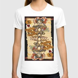 'Cheshire' (Alice in Wonderland Steampunk Series) T-shirt