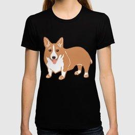 Pembroke Welsh Corgi Art T-shirt