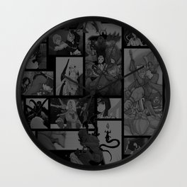 SMITE Comics Moment Montage Wall Clock