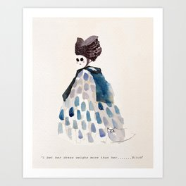Ghost Bitch Art Print