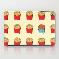 fries iPad Cases featuring Hip Fries by ladyposeidon
