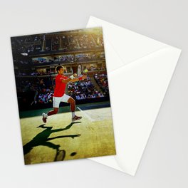 Novak Djokovic Tennis Stationery Cards