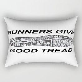 Runners Give Rectangular Pillow