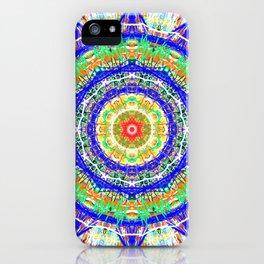 12 star mandala clock / phone cover iPhone Case