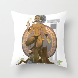 Pan Throw Pillow