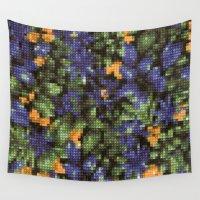stitch Wall Tapestries featuring Cross Stitch by Mr & Mrs Quirynen