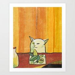 cat (2019) Art Print