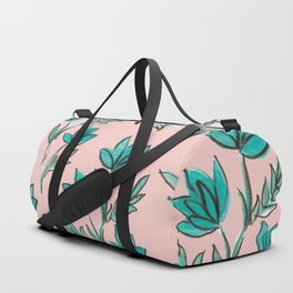 Monday Blossoms Duffle Bag