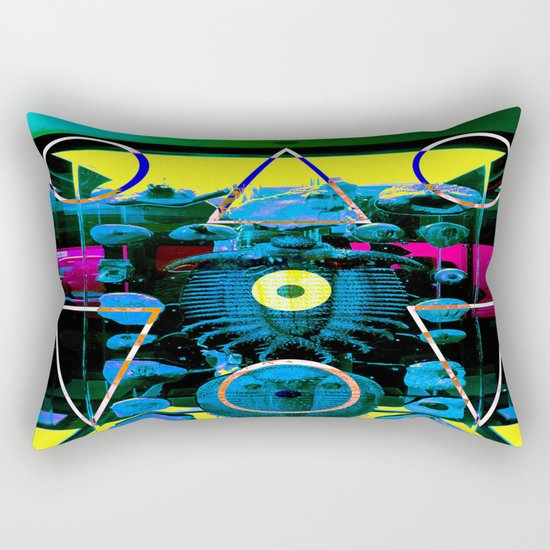 Trilobite Pyramid Scheme Rectangular Pillow