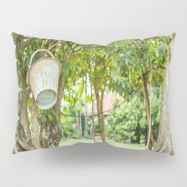 Bucket & Trees, Killing Fields, Cambodia Pillow Sham