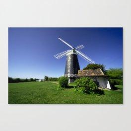a Norfolk Windmill  Canvas Print