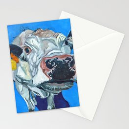 Leticia the Cow Stationery Cards