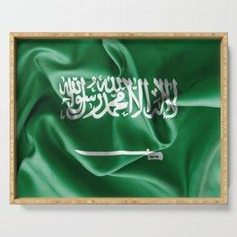 Saudi Arabia Flag Serving Tray