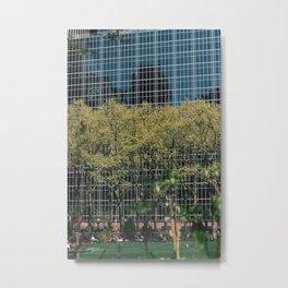 Bryant Park - Modern Building Metal Print