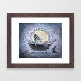Bathtime Framed Art Print