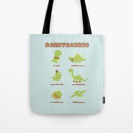 DANDYSAURUS Tote Bag