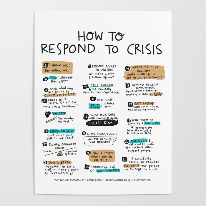 Responding to Crisis Poster