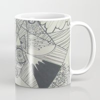 naked Mugs featuring Naked by Annemiek Boonstra