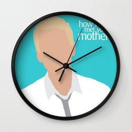Barney Stinson HIMYM Wall Clock