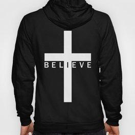 Believe Cross (Purple) Hoody