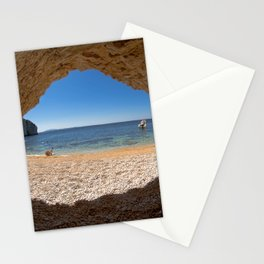 Out From Cave Stationery Cards