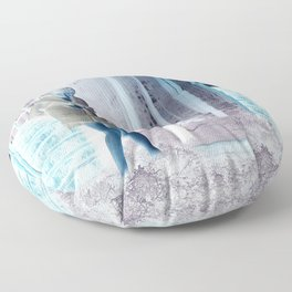 Inside Out When Outside or In Floor Pillow