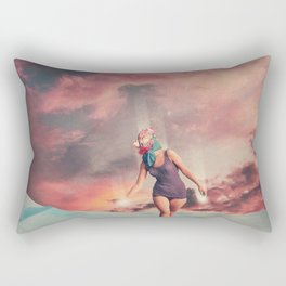 Fading into the Light Rectangular Pillow