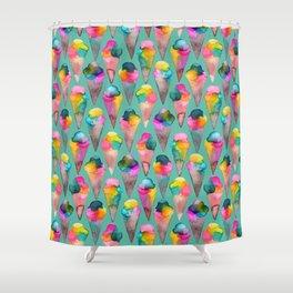 Cucuruchos Shower Curtain