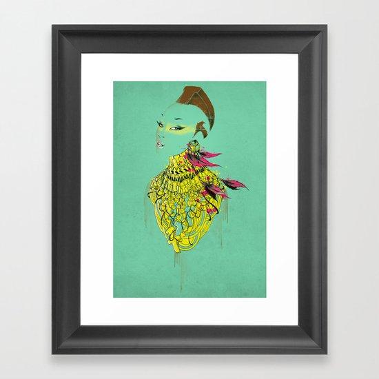 Mrs.T Framed Art Print