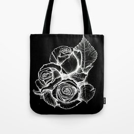 Inverse Roses Tote Bag