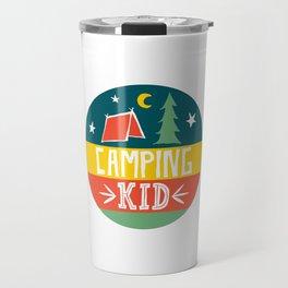 camping kid Travel Mug
