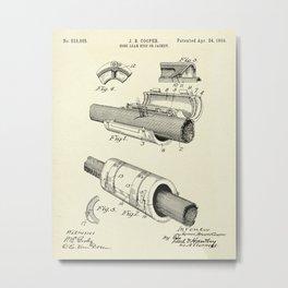 Hose Leak Stop or Jacket-1894 Metal Print