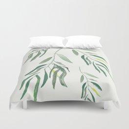 Eucalyptus Branches II Duvet Cover
