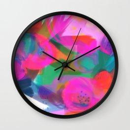 Dreamed Garden 4 Wall Clock