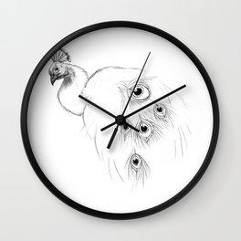 Peacock  SK097 Wall Clock