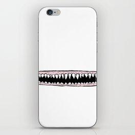 Teeth. iPhone Skin