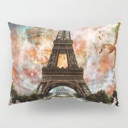 The Eiffel Tower - Paris France Art By Sharon Cummings Pillow Sham