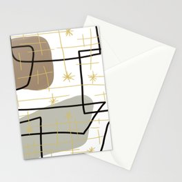 Mid Mod Mash Stationery Cards
