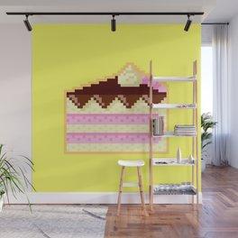 Pixel Cake Wall Mural