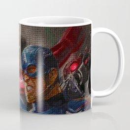 War of superhero Coffee Mug