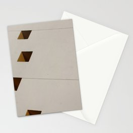 Diagonal Squares and a Sphere Stationery Cards