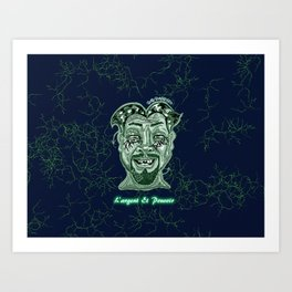 Money and Power Art Print