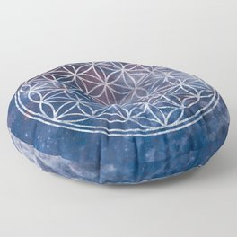 Sacred Geometry Universe 5 Floor Pillow